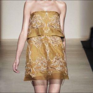 BCBG RUNWAY SILK ORGANZA DRESS